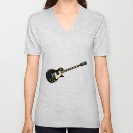 Rock Standard Guitar Unisex V-Neck