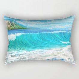 Mermaid's mountain Rectangular Pillow