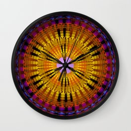 Abstract patterns mandala Wall Clock