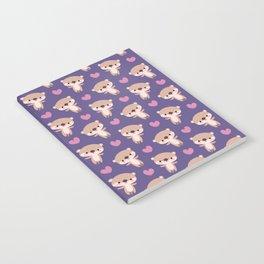 Kawaii otters Notebook
