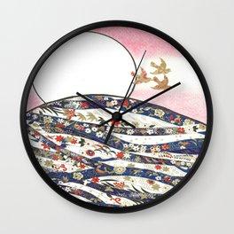 Hanafuda Bozu Wall Clock