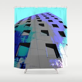 Gehry-Tower Shower Curtain