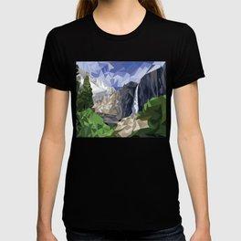 Geometric Yosemite T-shirt