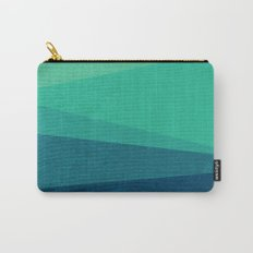 Stripe VIII Minty Carry-All Pouch