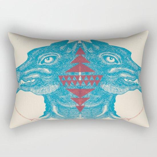 Duel Hunt Rectangular Pillow