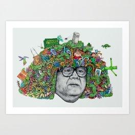 DERIVATIVE! Art Print
