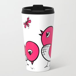 Cute little birds Travel Mug