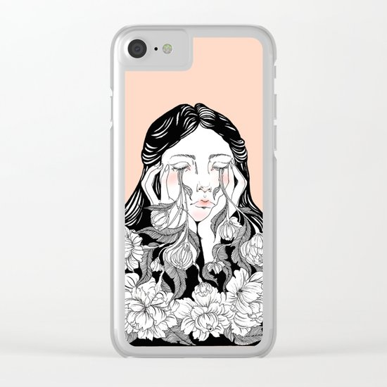 cry me a garden Clear iPhone Case