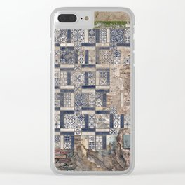 Old Greece House Clear iPhone Case