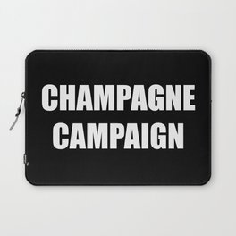 Champagne Campaign Mmm Bubbles Laptop Sleeve