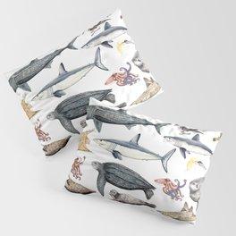 Marine wildlife Pillow Sham