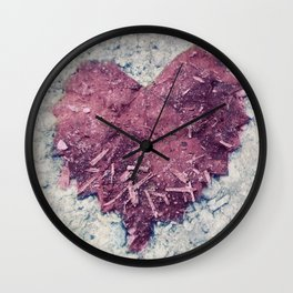 Love is ..... Everywhere. Wall Clock