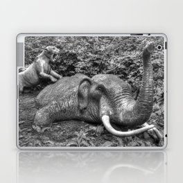 Mammoth and Sabre Toothed Tiger Laptop & iPad Skin