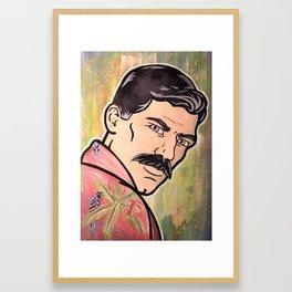 Archer P.I. Framed Art Print