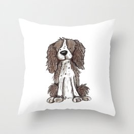 Sit and Stay Throw Pillow
