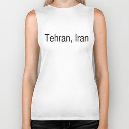 Tehran, Iran Biker Tank