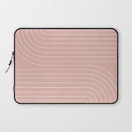 Minimal Line Curvature X Laptop Sleeve
