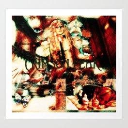 Beware, Of Crimson Peak Art Print