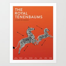 Margot's Wallpaper / The Royal Tenenbaums / Wes Anderson Art Print