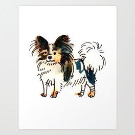 Jasper - Dog Watercolour Art Print