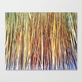 434 - Abstract grass design Canvas Print