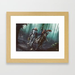 To Mount Weather Framed Art Print