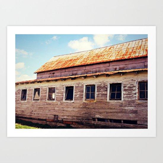 Old Barn 1 Art Print