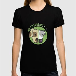 No Difference Dog Cow T-Shirt - Animal Rights Shirt T-shirt