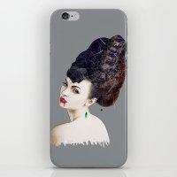 black widow iPhone & iPod Skins featuring Black Widow by Daniac Design