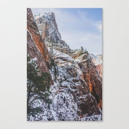 Zion's Great White Throne Canvas Print