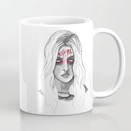 Kill Me B/W Coffee Mug