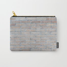 BRICK HOUSE WALL BRICKS PATTERN INTERIOR DESIGN GREY Carry-All Pouch