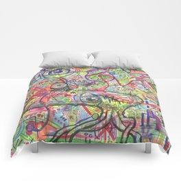 Basura Cerebro Comforters