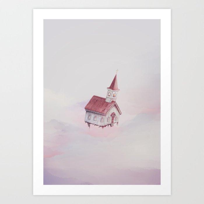 Heavenly Flight Art Print
