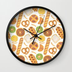 The Delicious Breads Wall Clock