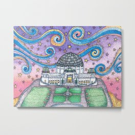Griffith Observatory Metal Print