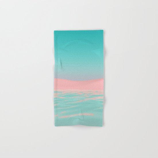 Pink Beach Hand & Bath Towel