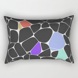 Voronoi Rectangular Pillow