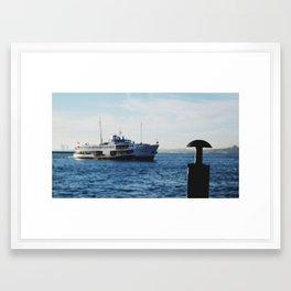 Ferries of Istanbul #1 Framed Art Print