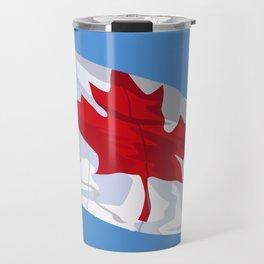 CANADIAN FLAG 01. Travel Mug