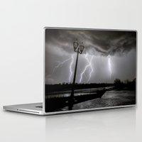 tesla Laptop & iPad Skins featuring Tesla Skies by Tanner Albert