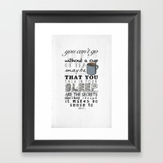 One Direction: Little Things Framed Art Print
