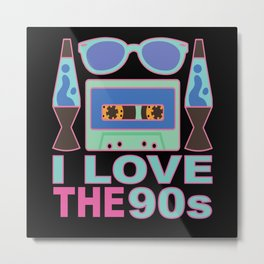 90s 90s Patry 90s Fashion 90s Outfit Metal Print