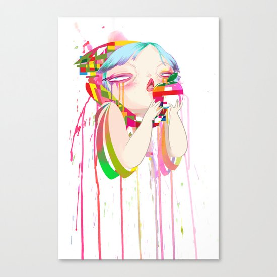 Byte Canvas Print
