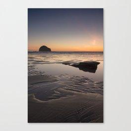 Sunset in Cornwall II Canvas Print
