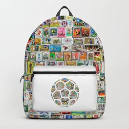 Philately Soccer Ball Backpack