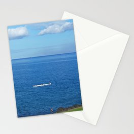 Running with the Outrigger  Stationery Cards