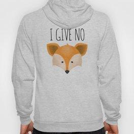 I Give No Fox Hoody
