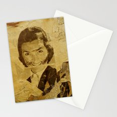 The bearded woman Stationery Cards