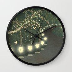 Guiding Lights Wall Clock